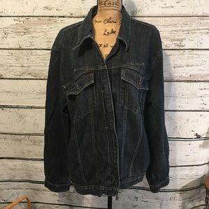 Denim Marithe Francois Girband Jacket Size XXL